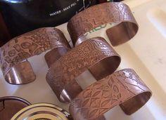 DEBORHREAD.COM: Step by Step: Making a Copper Etched Cuff Bracelet