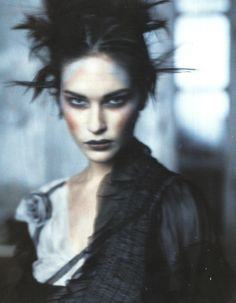 erytheis: 'Pale Shades': Erin Wasson by Paolo Roversi for Vogue Italia, March 2002