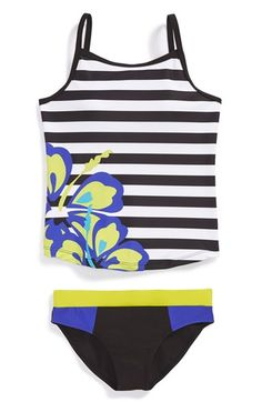 Limeapple 'Kailua' Two-Piece Swimsuit (Little Girls & Big Girls) available at #Nordstrom