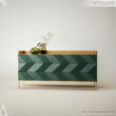design_DESIGNNAME is a Sideboard by Dren Begolli featured in designmag, this page provides further information and details regarding the Sideboard which is an award winning design in 2017 A' Design Award. Foyer Furniture, Deco Furniture, Cabinet Furniture, Design Furniture, Luxury Furniture, Cool Furniture, Painted Furniture, Tv Bench, Buffet Cabinet