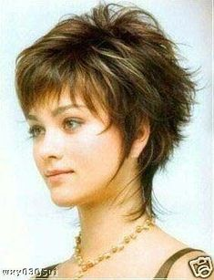 medium cut hairstyles for older heavier women | Picture of Hairstyle Overweight Women