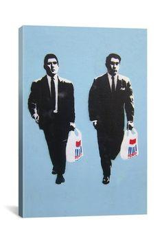 Banksy Tesco Mafia.