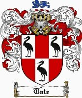 Tate Coat of Arms / Tate Family Crest gifts at www.4crests.com