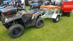 Terrain 600 atv for farm use. ATV and farm quad bikes from Quadzilla for smallholder farmers. 4WD system ideal for towing ATV trailers, paddock cleaners, paddock toppers, flail mowers, chain harrows. For more info:  http://www.fresh-group.com/farm-quad.html
