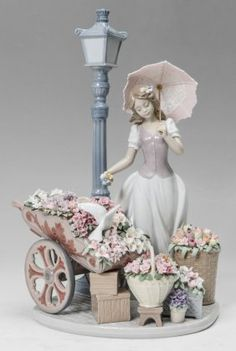 Lot:LLADRO PORCELAIN FLOWERS FOR EVERYONE #6809, Lot Number:1492, Starting Bid:$100, Auctioneer:Burchard Galleries Inc, Auction:LLADRO PORCELAIN FLOWERS FOR EVERYONE #6809, Date:07:00 AM PT - Feb 22nd, 2015