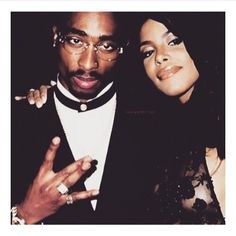 Pac and Aaliyah