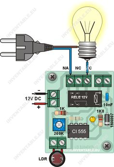 Mach đồng nhất từ đồng Hola gente, después de una pausa obligada debida a mi trabajo, retomo las publicaciones de Inventable proponiéndoles una nueva versión per. Electronics Projects, Hobby Electronics, Electrical Projects, Electrical Installation, Arduino Projects, Engineering Science, Electronic Engineering, Electrical Engineering, Ac Circuit