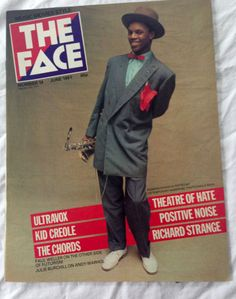 The Face Magazine UK #14 June 1981 Kid Creole