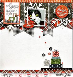 naughty - Carta Bella Paper - Christmas Delivery Collection