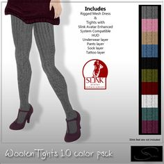 Stellar Woolen Tights 10 color pack! | Flickr - Photo Sharing!