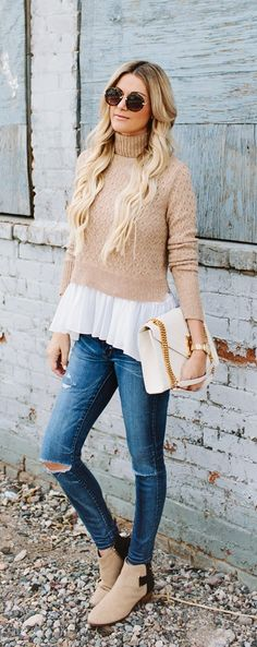 Sweet neutral outfit