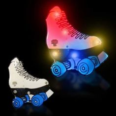 LED Roller Skate Blinky12 Pack Windy City Novelties