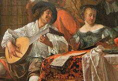 Jan Steen, Family Concert  Dutch Baroque genre scenes