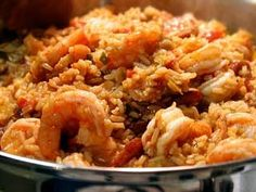 Creole jambalaya is a classic New Orleans food and this recipe is from a classic New Orleans chef – Leah Chase. Chase is culinary royalty in New Orleans as the owner and chef of historic soul food restaurant, Dooky Chase's! Definitely a recipe to try out! Creole Recipes, Cajun Recipes, Seafood Recipes, Cooking Recipes, Haitian Recipes, Healthy Recipes, Fast Recipes, Donut Recipes, Cookbook Recipes