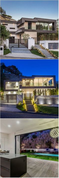Rising Glen: A Beautiful Modern Home in Hollywood Hills, Los Angeles A stunning modern home featuring an inviting pool and a luxurious interior.     Since modern home designs are a trend these days, we can see many houses that has this design. But although we may see similar homes with its use...