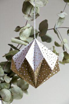 tutorial bolas de navidad originales bolas navidad de origami bolas de navidad