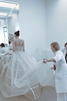 Backstage at Delpozo Spring 2016 RTW New York
