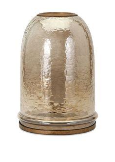 """Jolie Large Cloche Lantern 12.25""""""""h x 8.75""""""""d"""
