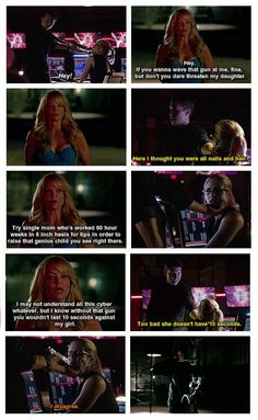 Arrow - Donna, Cooper, Oliver and Felicity ♥ this was so amazing! episode in arrow Oliver And Felicity, Felicity Smoak, Arrow Felicity, The Cw Shows, Dc Tv Shows, Arrow Cw, Team Arrow, Supergirl Dc, Supergirl And Flash