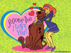I Love You Scooby Doo Wallpaper - Scooby Doo Wallpapers