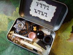 Pocket Travel Altar Hecates Wheel. $26.99, via Etsy.