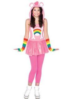 Teen Girls Cheer Bear Costume - Care Bears