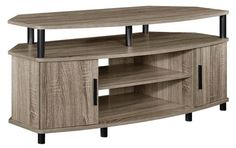 Corner 50 TV Stand Entertainment Center Media Console Furniture Cabinet Shelves