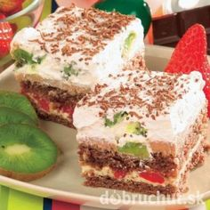 Božské rezy Mexican Food Recipes, Sweet Recipes, Cake Recipes, Russian Recipes, Pavlova, Tiramisu, Sweet Tooth, Sandwiches, Recipies