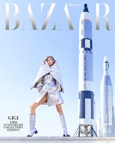 Gigi Hadid for Harpe