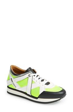 5f178a6b1a11 Free shipping and returns on Jimmy Choo  London  Neon Lace-Up Sneaker (