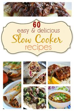 Hey hey everybody! It's Tiffany from Creme de la Crumb back to bring you another fun roundup! This time it's SLOW COOKER madness!! I don't know about you but I'm practically in love with my slow cooker.