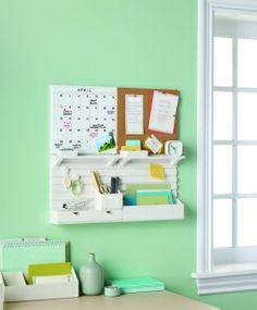 Martha Stewart Home Office Wall Organiser | In The Playroom