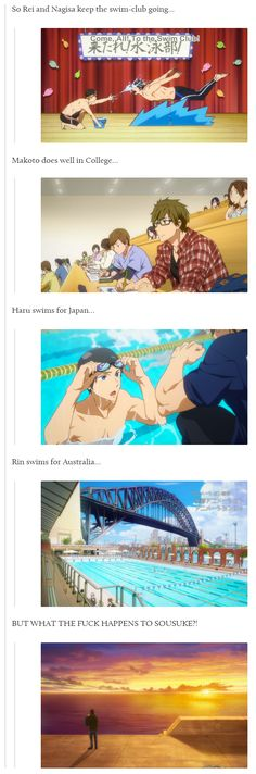 Oh, Haru and Rin... I didn't even realize that, for some reason... TT~TT