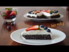 Zdravý makový koláč bez múky a cukru - fit recept - YouTube Delena, Panna Cotta, Cheesecake, Pudding, Ethnic Recipes, Youtube, Dulce De Leche, Cheese Cakes, Cheesecakes