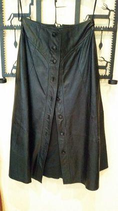 Wenig getragener top Lederrock Größe 42 | eBay