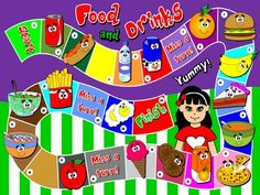 food and drinks board game directions funtastic english 2 2nd