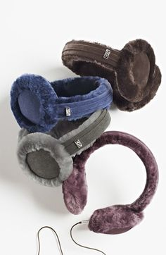 UGG Shearling Wired Earmuffs