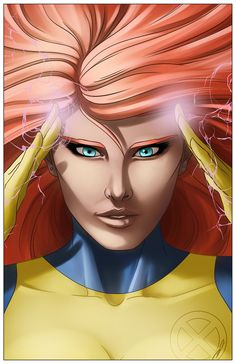 Jean Grey by Marcus Hill