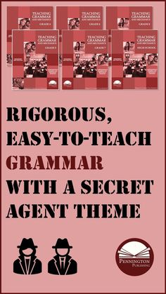 Full-year Teaching Grammar, Usage, and Mechanics Google slides or print program with a fun secret agent theme. Plenty of practice. Grammar in the writing context. Mentor sentences, Sentence diagrams. Throw away your DOL, DGP, DLR and teach grammar that sticks in two 25-minute lessons per week plus remedial worksheets corresponding to diagnostic assessments. Check out the sample lessons at ... Study Skills, Reading Skills, Writing Skills, 7th Grade Ela, 5th Grade Teachers, Reading Assessment, Reading Intervention, Middle School Ela, Middle School English