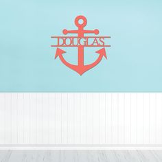 16 to 36 inch Wooden Name Anchor Ready to Paint Nautical Wooden Names, Name Signs, Beach House Decor, Graduation Gifts, Door Hangers, Photo Props, Anchor, Nautical, Graduation Presents