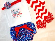 Baby Girl Fourth of July Outfits, 4th of July Outfits For Girls, Baby Girl 4th of July Outfits, Fourth of July Outfits by BouquetsandGifts on Etsy https://www.etsy.com/listing/228879724/baby-girl-fourth-of-july-outfits-4th-of
