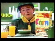 Corn Flakes, McDougal- I used to eat this when I was a kid- 80's Ecuadorian commercial