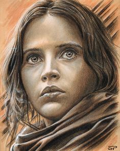 Jyn Erso by Sean Pence