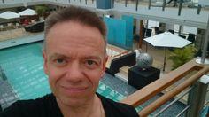Ombord på m/s Europa 2 från Antwerpen till Hamburg.