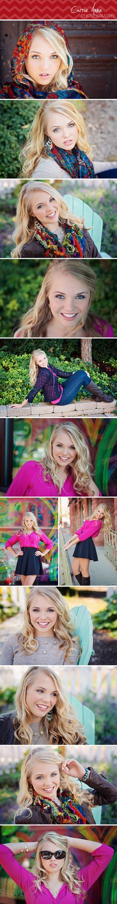 Gorgeous senior session by Carrie Anne Photography. #highschool #senior #portraits #photography #photogpinspiration