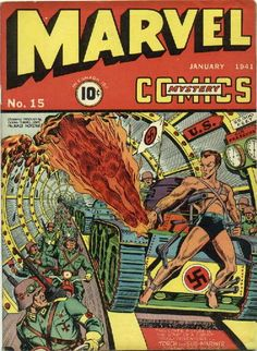 Comic Book Questions Answered: How Was World War II Depicted In Comics DURING World War II? | Comics Should Be Good @ CBR