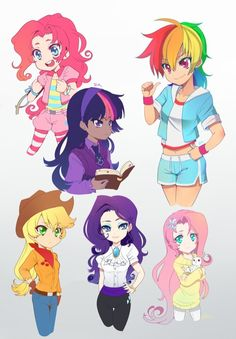 MLP Anime Style