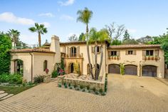 Lap of Luxury - Miley Cyrus's Tuscan-Style Mansion in Los Angeles