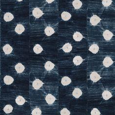 Vintage Indigo Dots