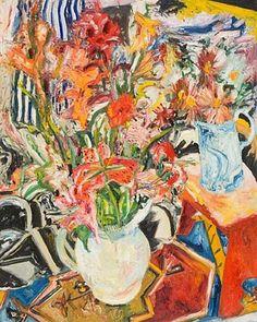 Flowers by John Bellany